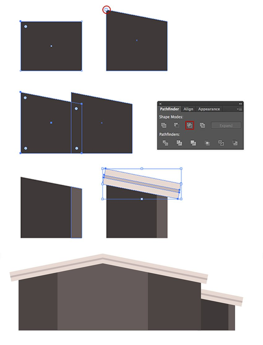 Creating the outbuilding