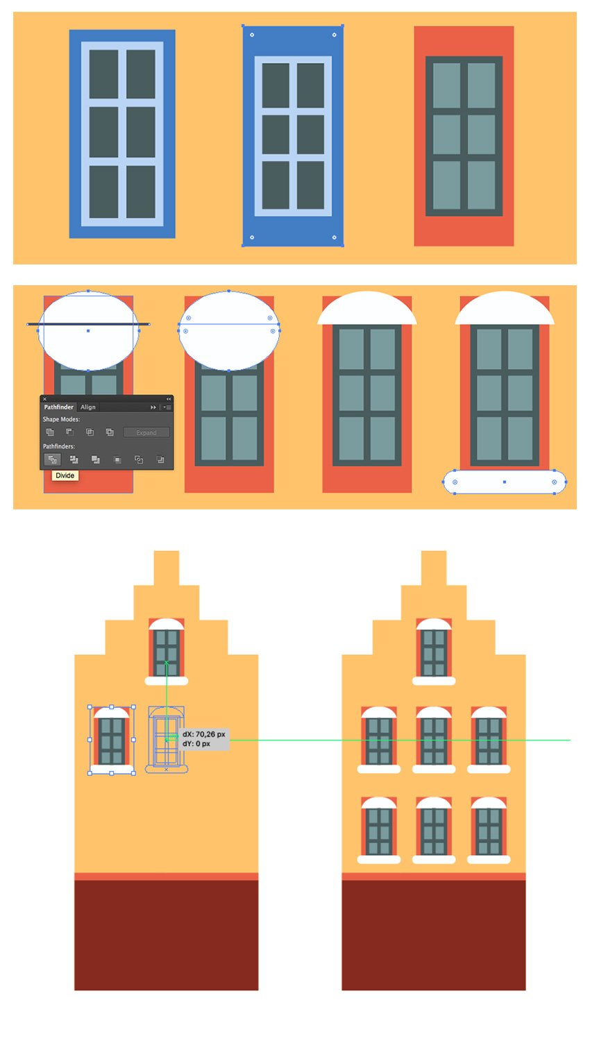 Creating and copying the windows