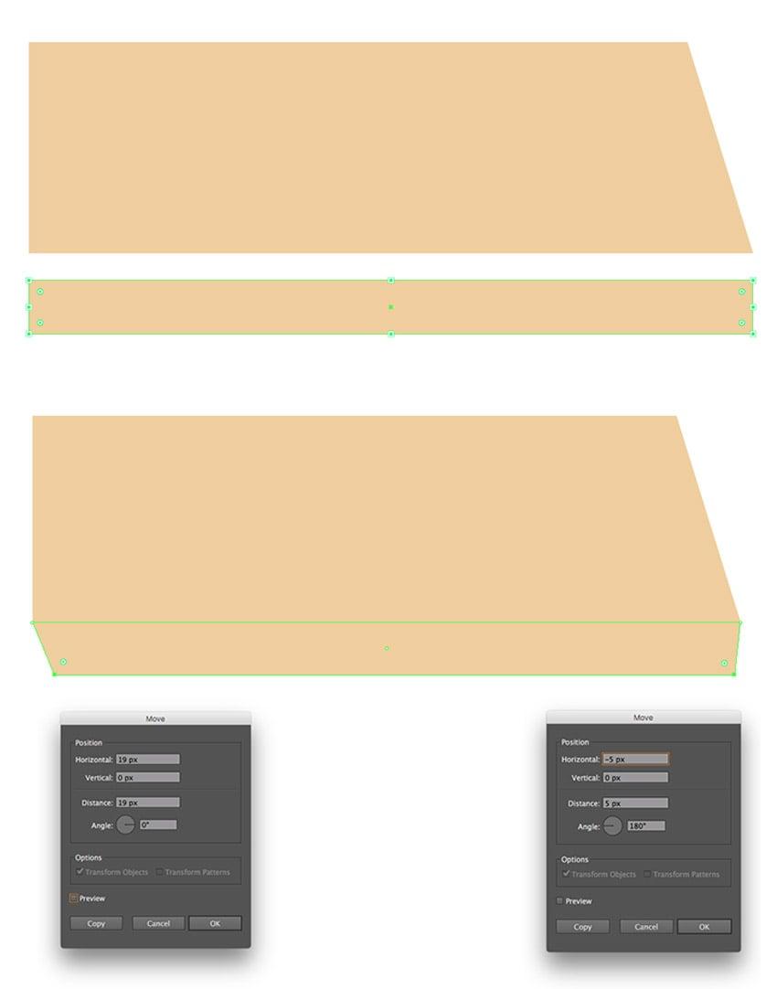 Adding a second rectangle below