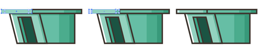 Forming an Upper Rectangle