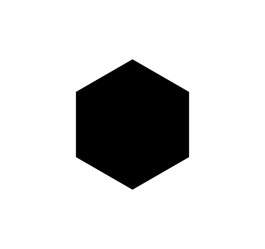 Create a polygon in Inkscape