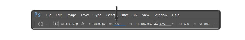 Resizing the layer