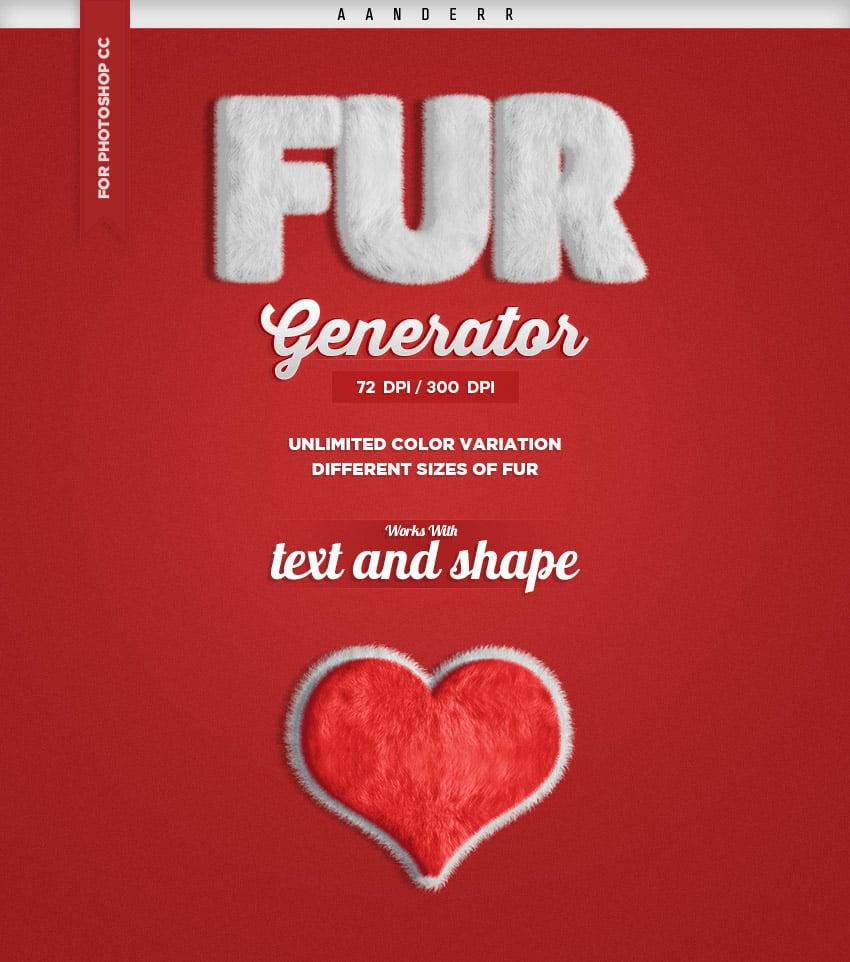 Promo Fur Generator