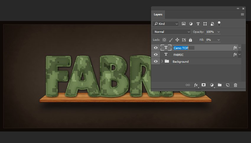 Renaming the layer