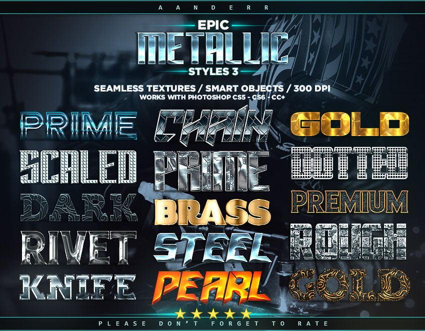 Epic Metallic Styles 3 promo image