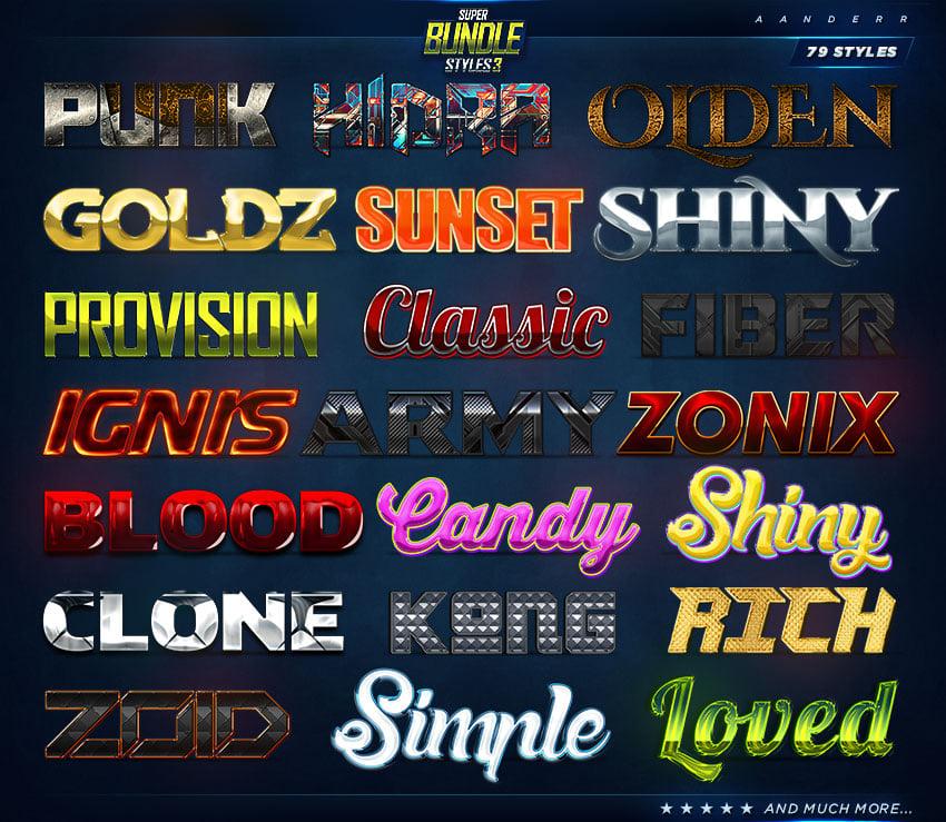 Super Bundle Styles 3 promo image