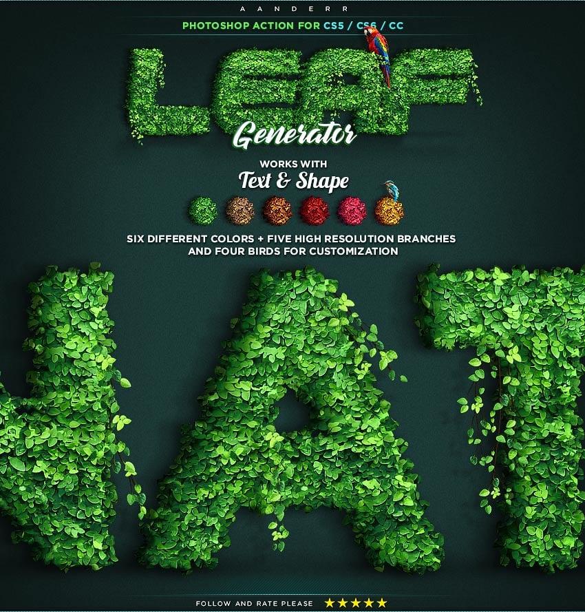 Leaf Generator promo