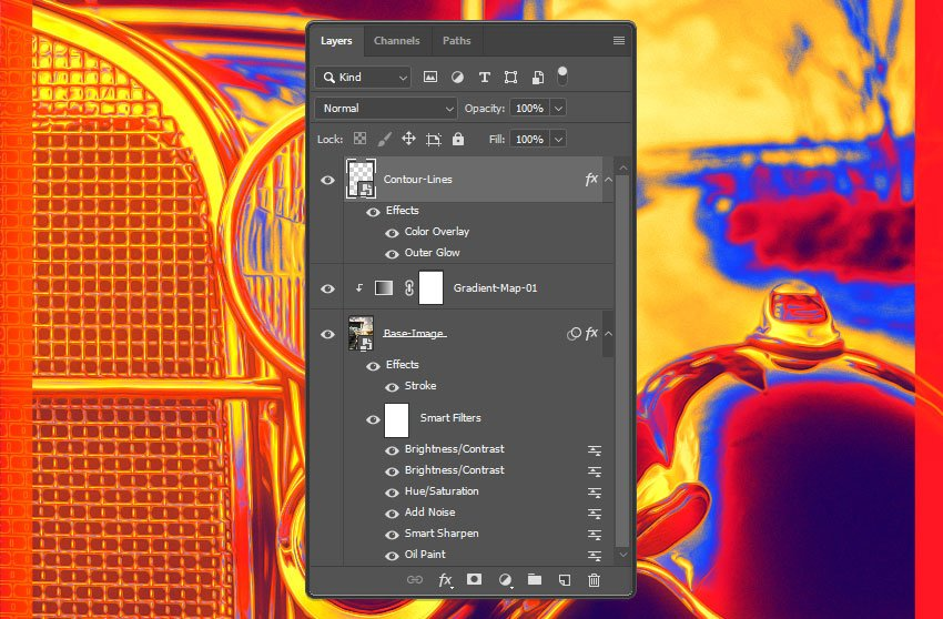 How the layers should look like