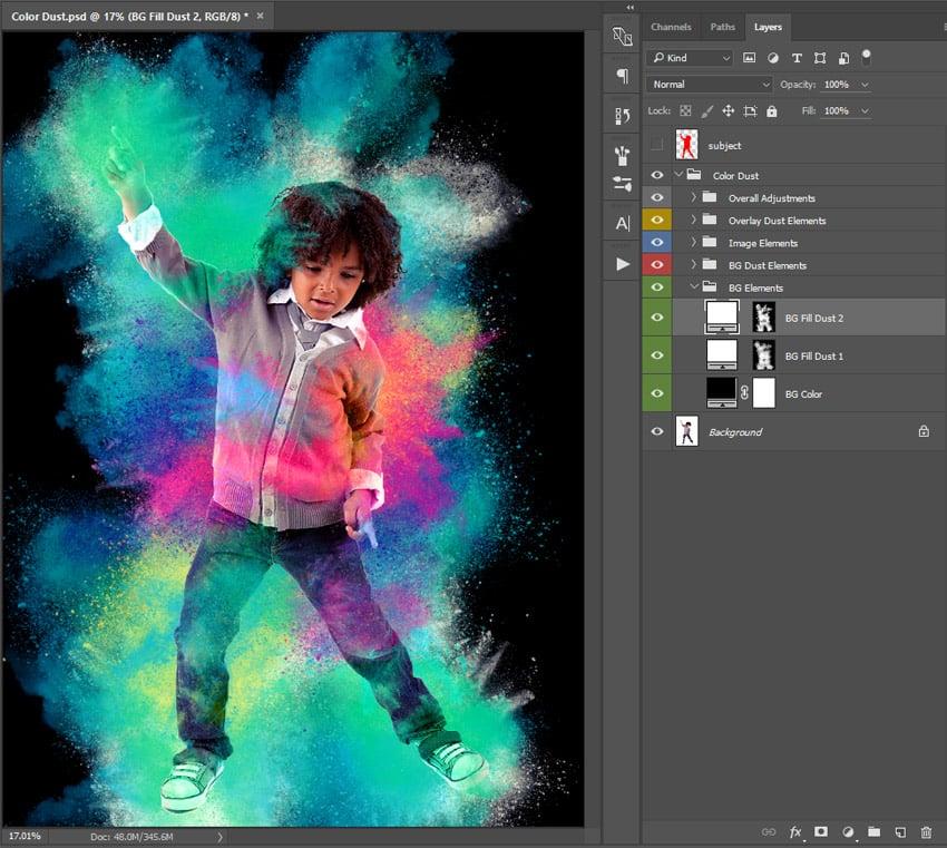 Modify background color