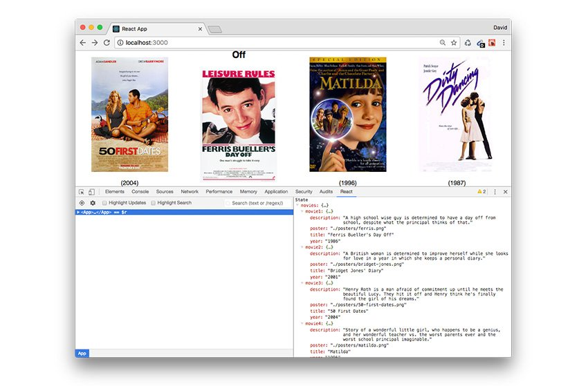 Adding movies to our initial state