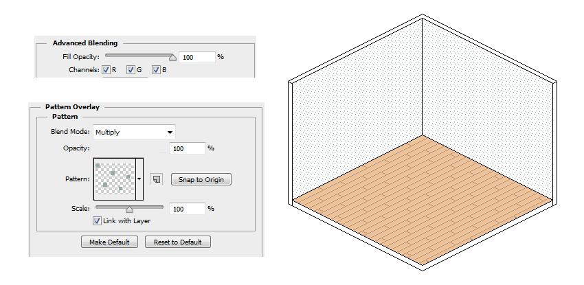 Add a Wallpaper Texture
