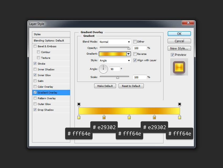 Add Gradient Overlay