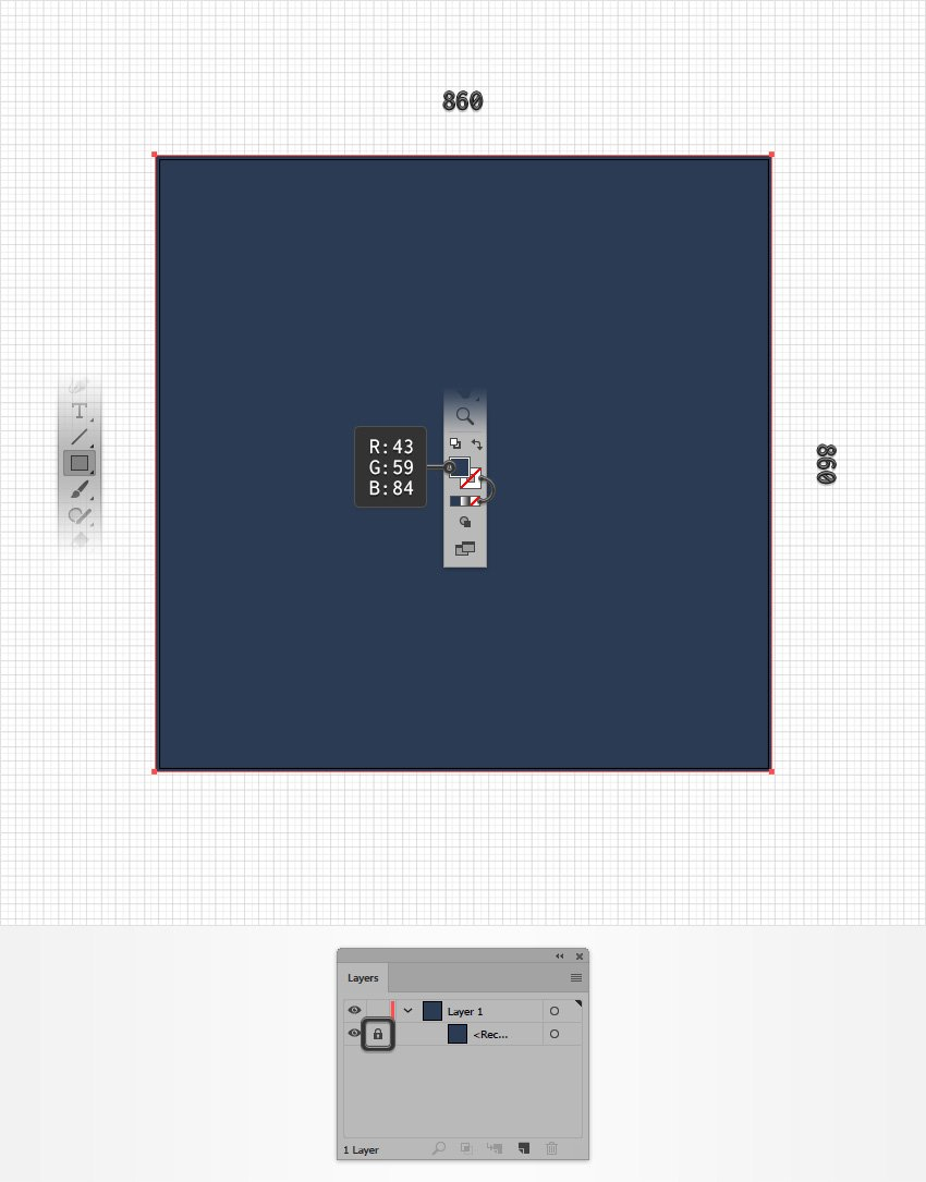 create a square