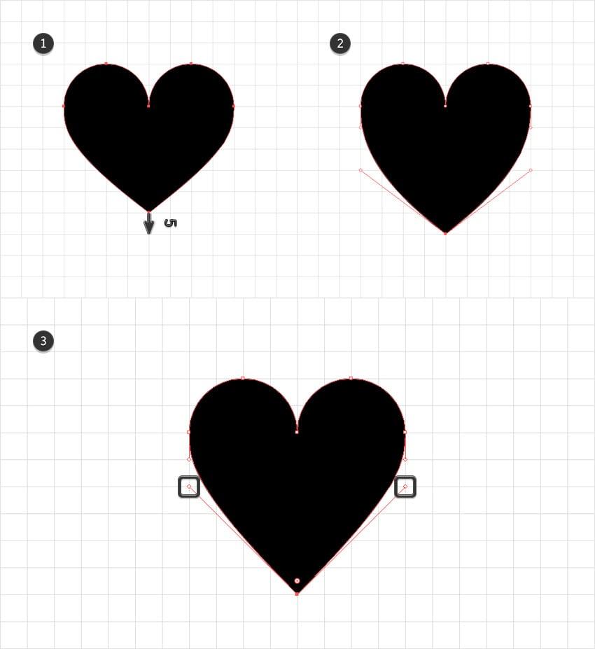heart shape