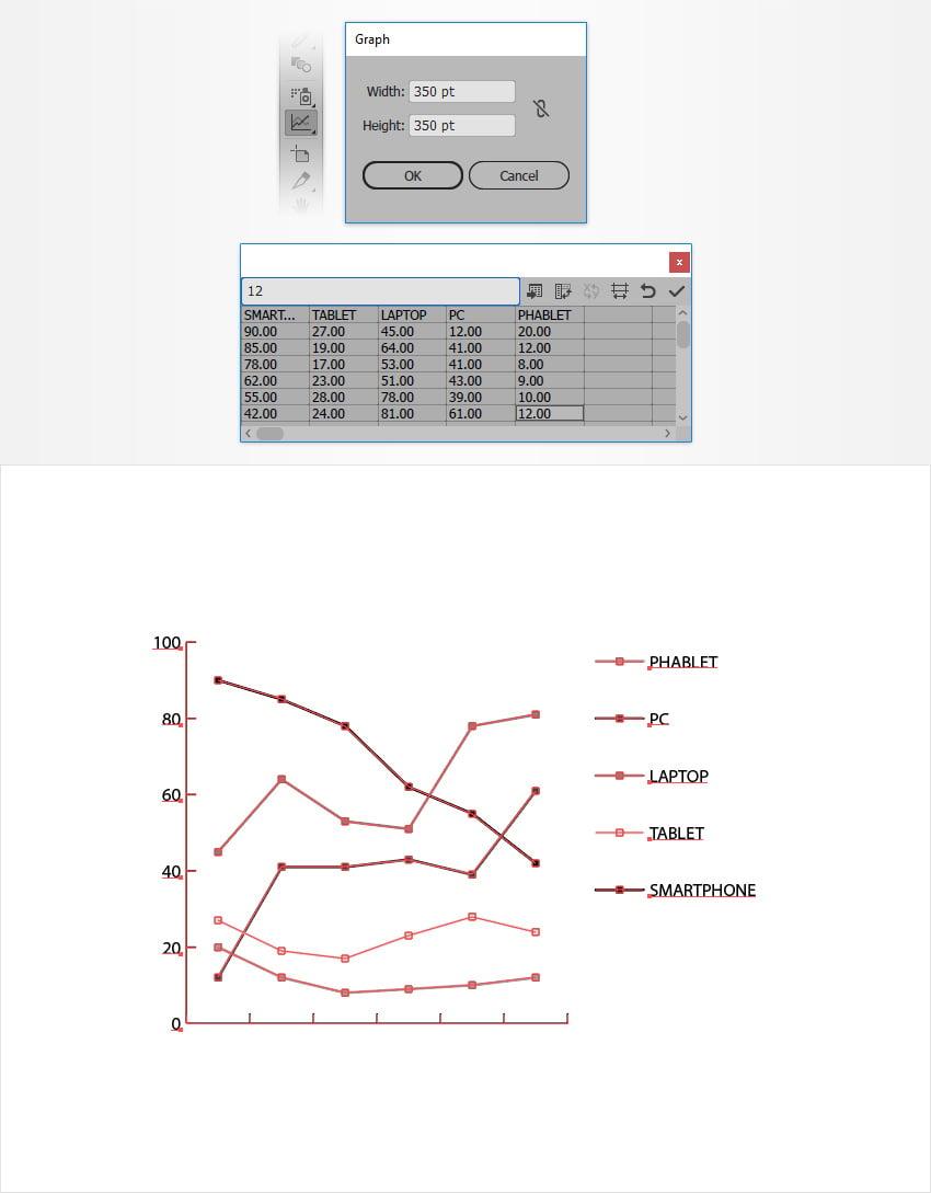 line graph tool