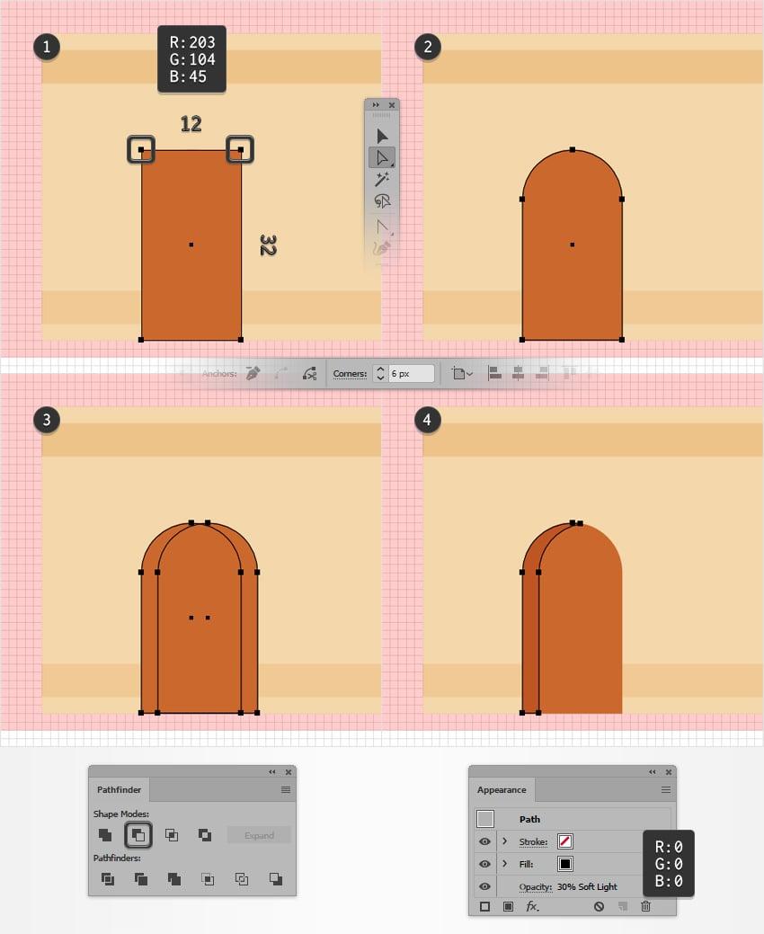 door shape