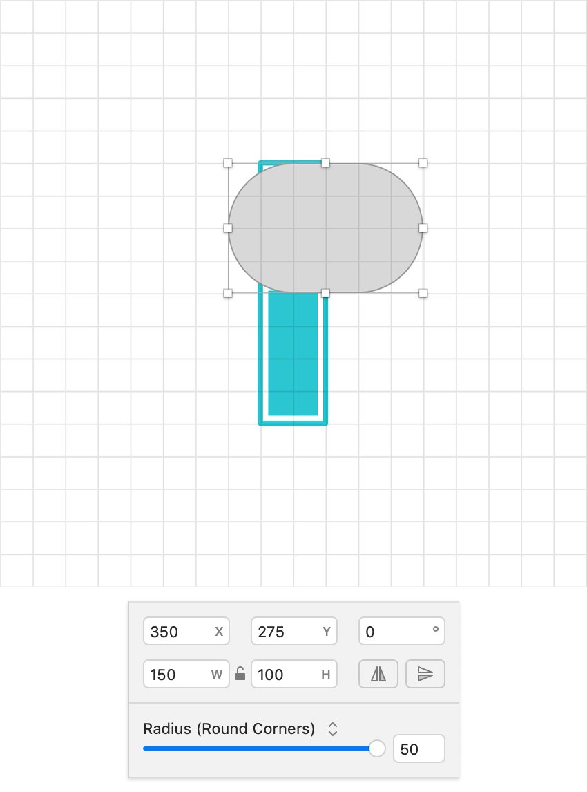 Rounded tool