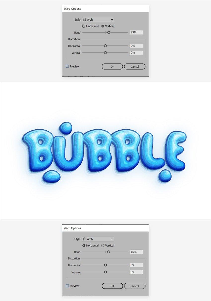 text design
