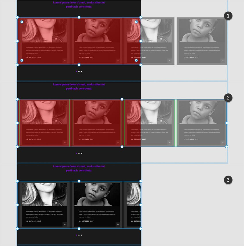 blog page mask