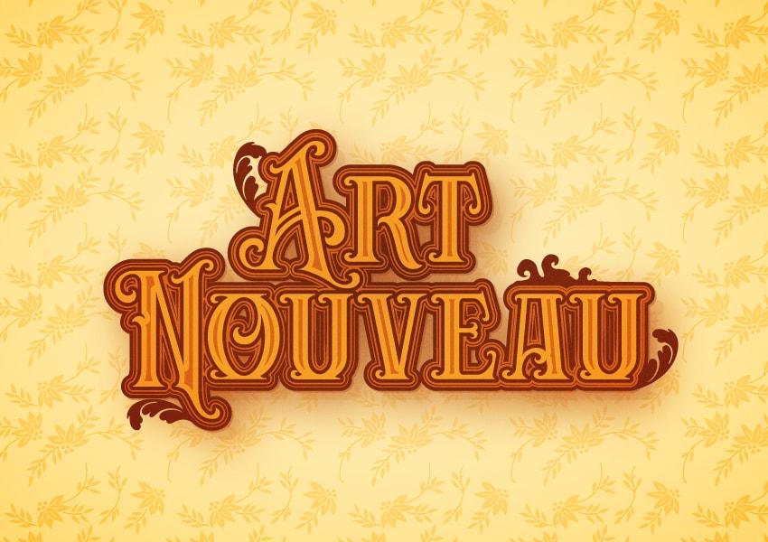 Art Nouveau illustrator tutorial