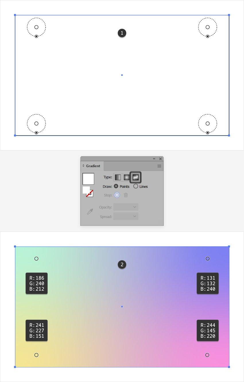 freeform gradient