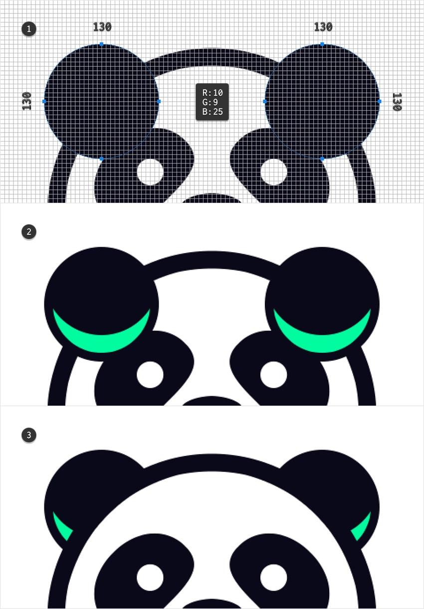 emblem design mascot ears