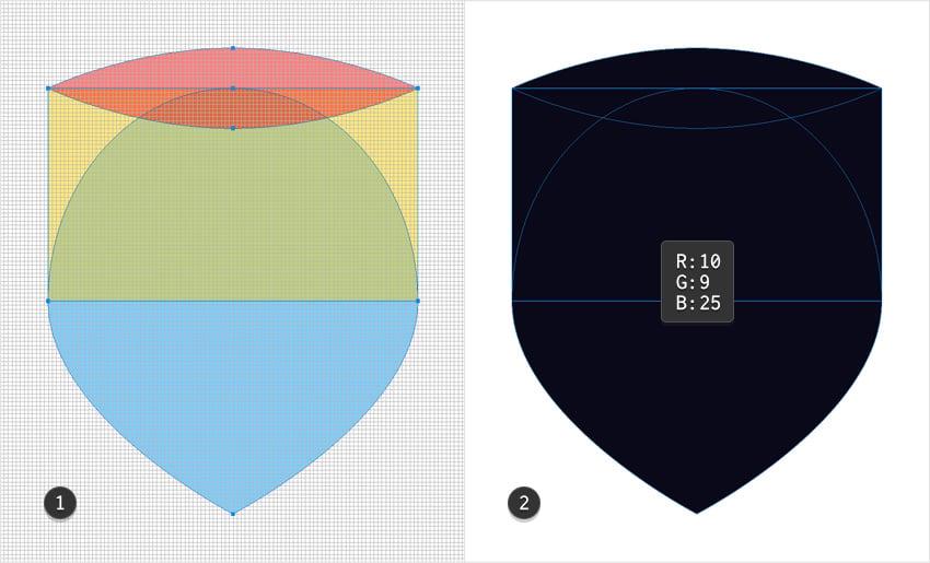 emblem design shield