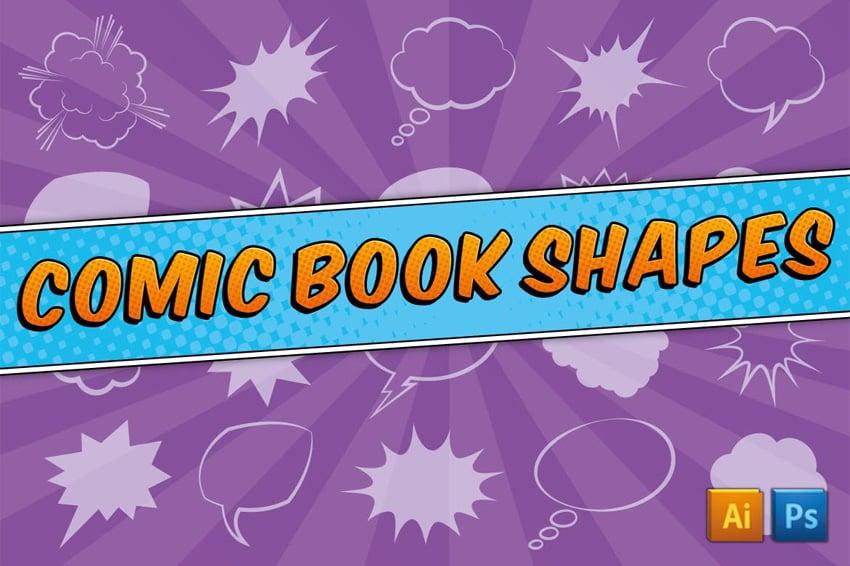 comic book shapes