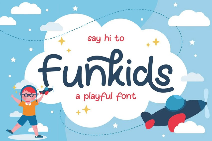 thought bubble font