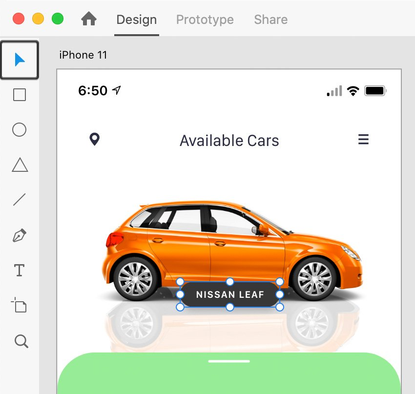 AdobeXD move tool