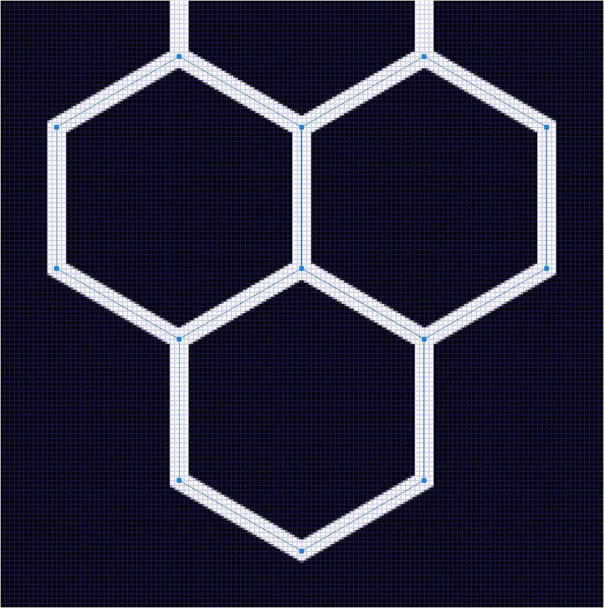 multiply hexagon