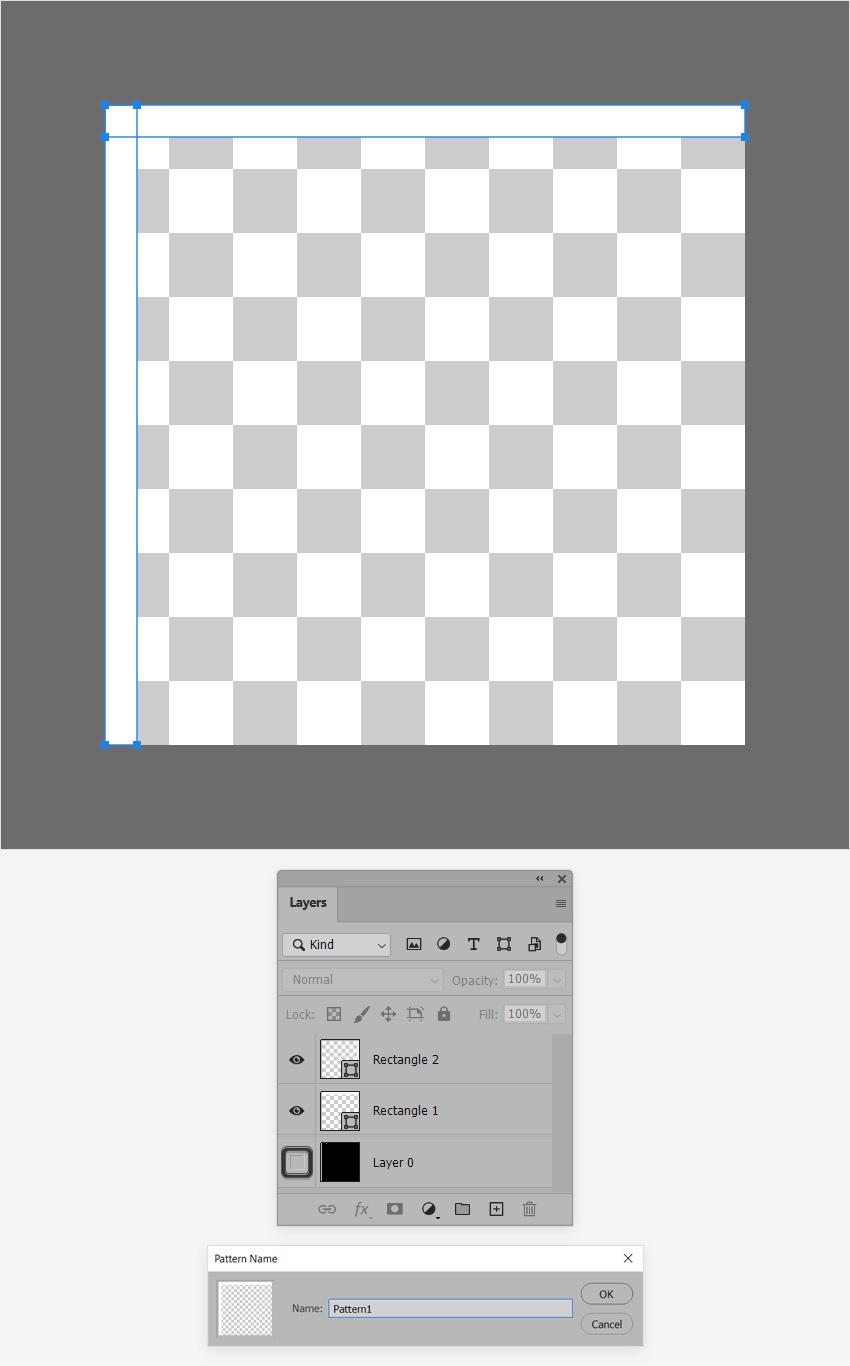save grid pattern