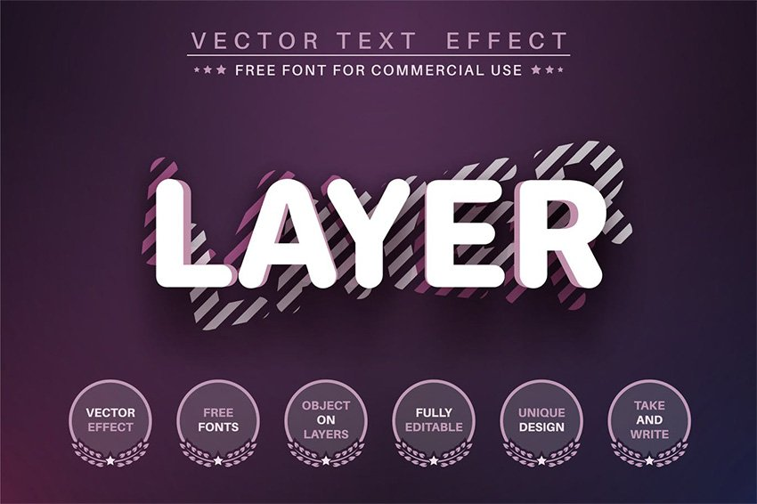 3D type illustrator