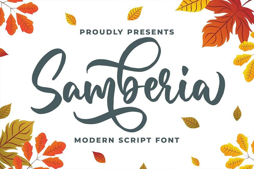 cute fall fonts