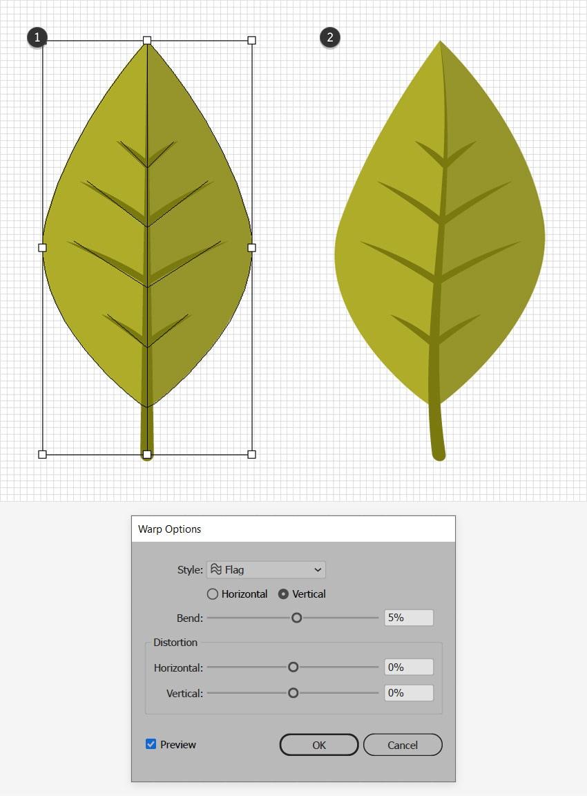 fall leaf design