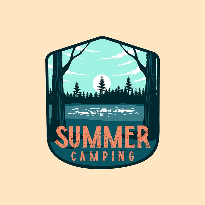 summer camp logo maker