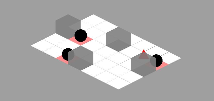 Isometric version finished level