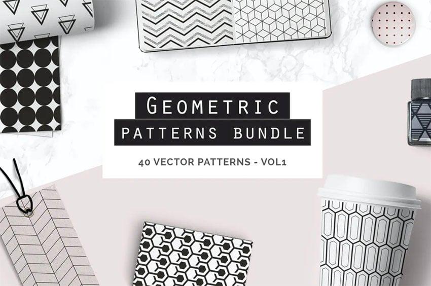 Geometric Seamless Patterns Bundle