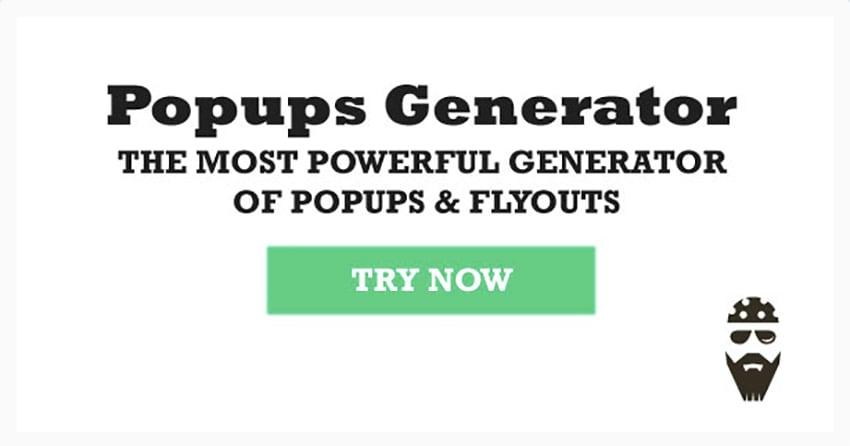 Popups Generator
