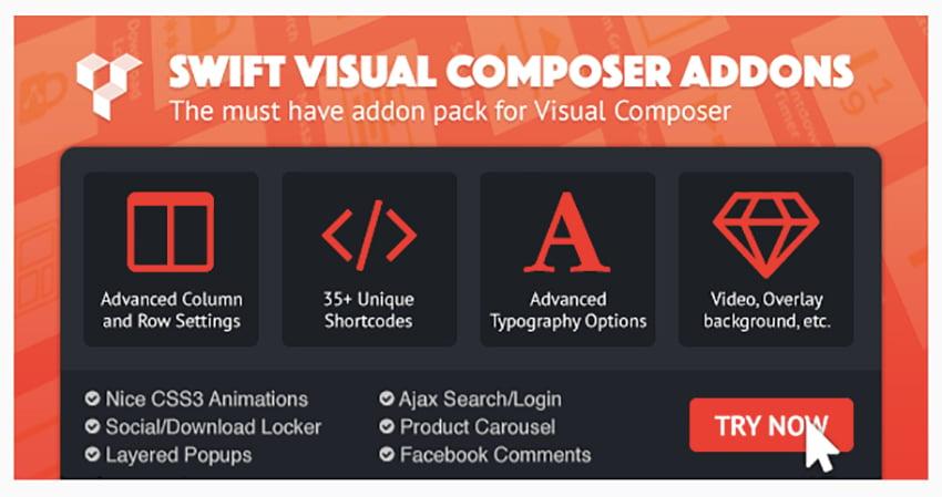 Swift Visual Composer Addons