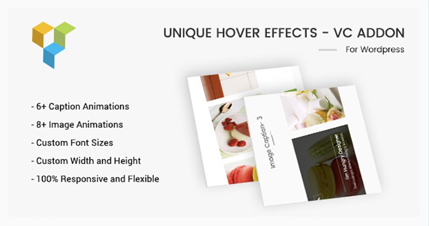 Unique Hover Effects - VC Addon