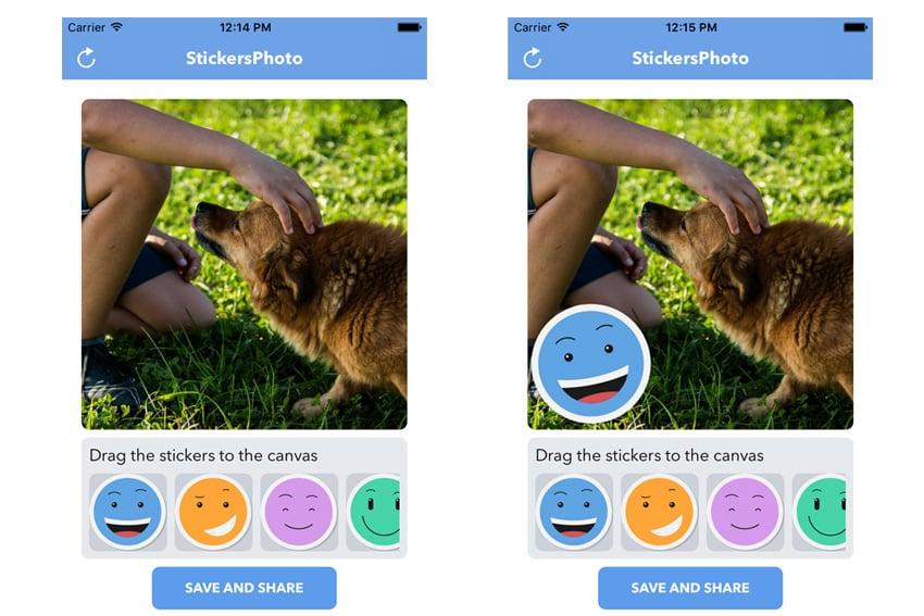 Photo Stickers App