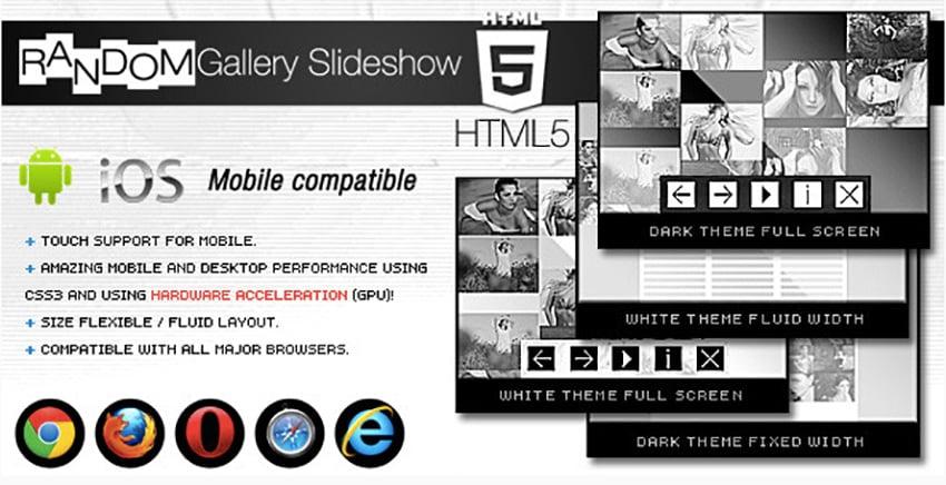 HTML5 Gallery Slideshow
