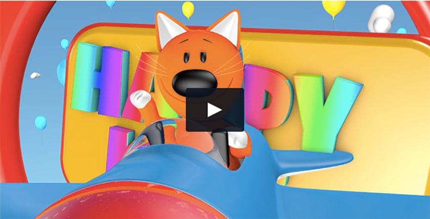 Kids Film Intro 4D