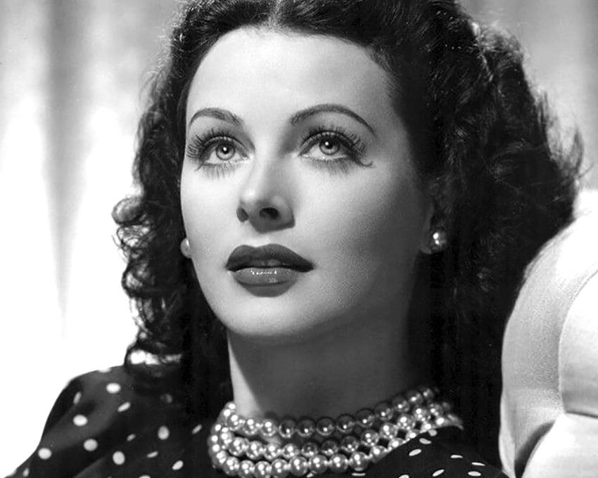Public Domain photo of Hedy Lamarr