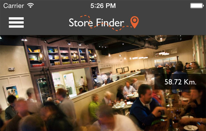 Store Finder v19 Buy iOS App Code
