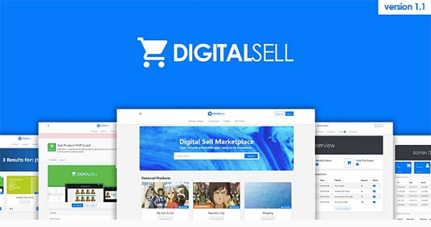 Digital Sell Marketplace