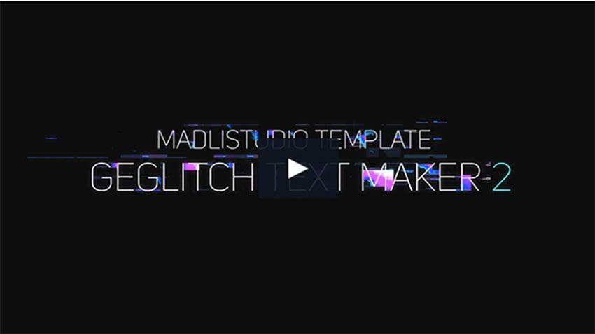 Ge Glitch Text Maker 2