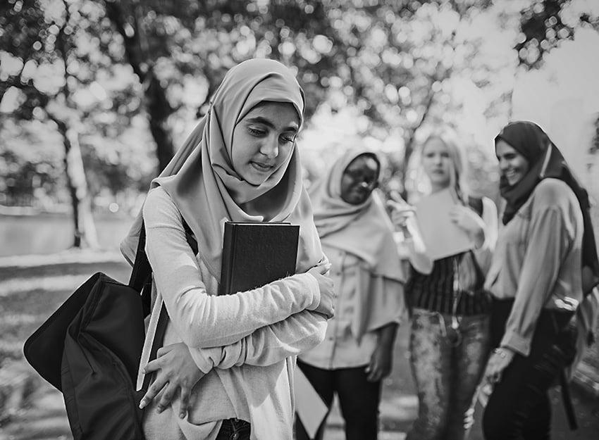 Sad Muslim Girl
