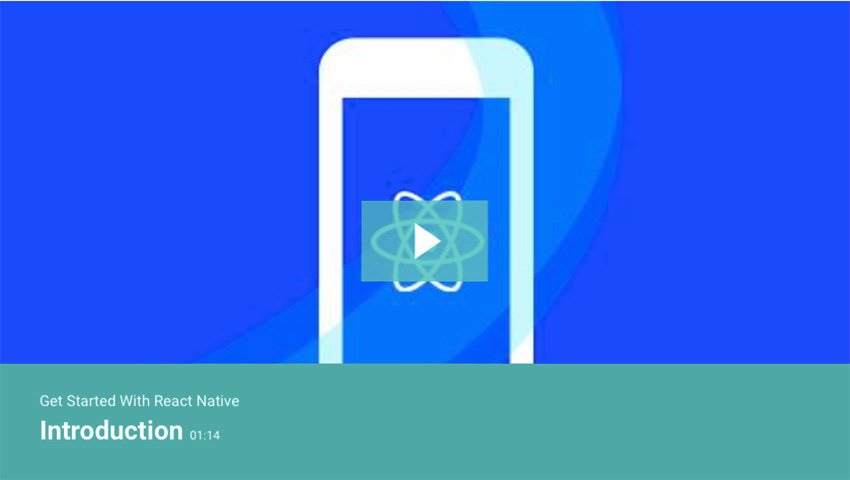 Get Started With React Native